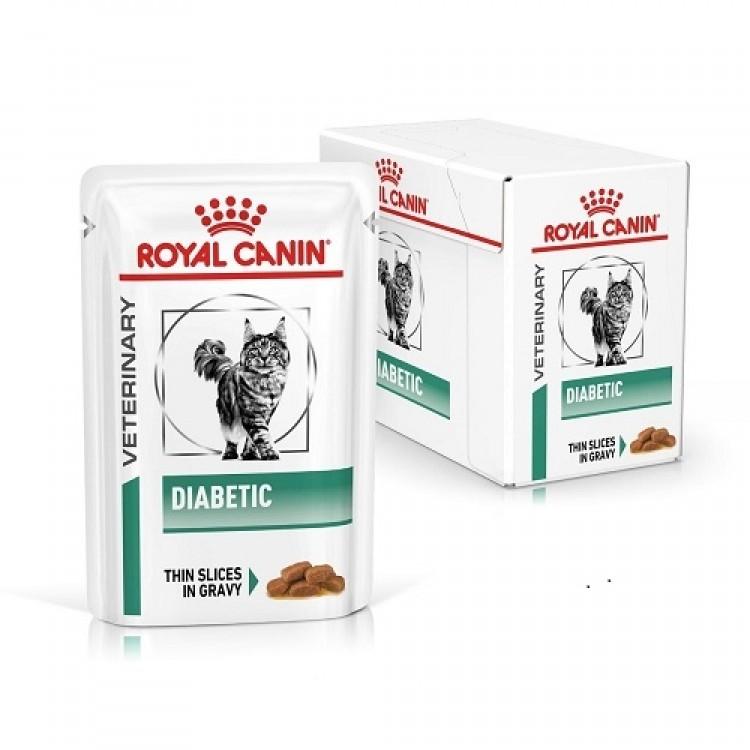 Royal Canin Diabetic Cat, 12 x 85 g