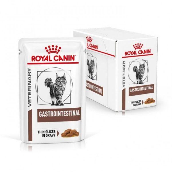 Royal Canin Gastro Intestinal Cat, 12 plicuri x 85 g