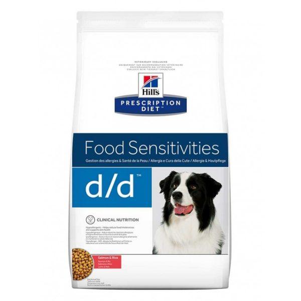 Hills dd cu somon si orez PD food sensitivites
