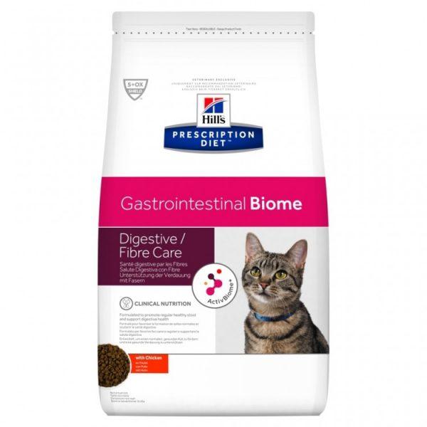 Hills feline gastrointestinal Biome